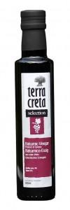 Terra Creta Balsamico Essig aus Rotwein 250ml Flasche