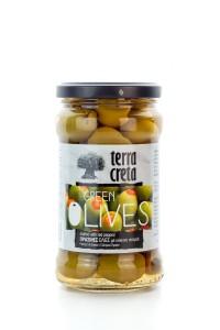 Terra Creta Selection Oliven Grün mit Paprika...