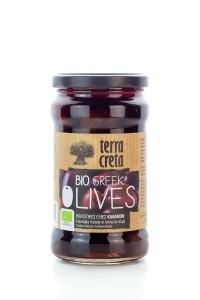 BIO Oliven Kalamata Terra Creta im Glas 315 ml