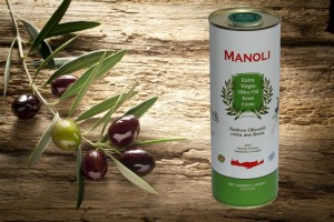 Evripidis MANOLI Extra Natives Olivenöl 1L Dose