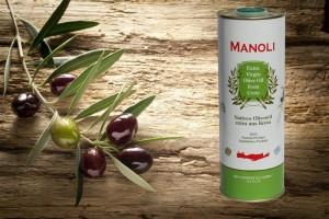 Evripidis MANOLI Extra natives Olivenöl 500ml Dose
