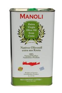 Evripidis MANOLI Extra Natives Olivenöl 3L Kanister