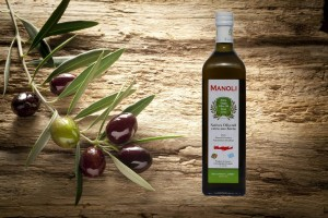 Evripidis MANOLI Extra Natives Olivenöl 750ml Flasche