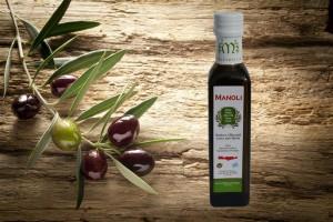 Evripidis Manoli griechisches Olivenöl 250ml Flasche