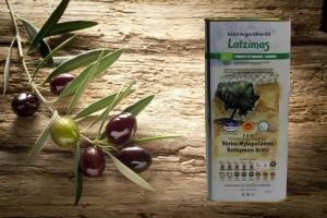 Latzimas Bio griechisches Olivenöl 5L Kanister