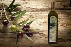 Latzimas Olivenöl extra nativ g.U. 1 Liter Flasche