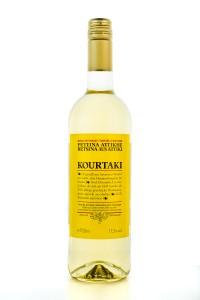 Kourtaki Retsina gehartzter Weißwein 12% 750ml
