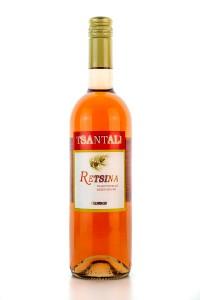 Retsina Rose (750ml/11,5%) von Tsantali