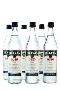 6x Ouzo Pilavas Nektar je 700ml 38%
