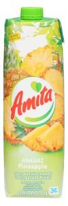 Ananasfruchtsaft 100% (1000ml) Amita