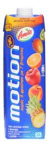 Amita Motion Mehrfruchtsaft 100% 1 Liter Packung