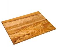 Olivenholz Schneidebrett ca. 40 × 30 × 1,4 cm