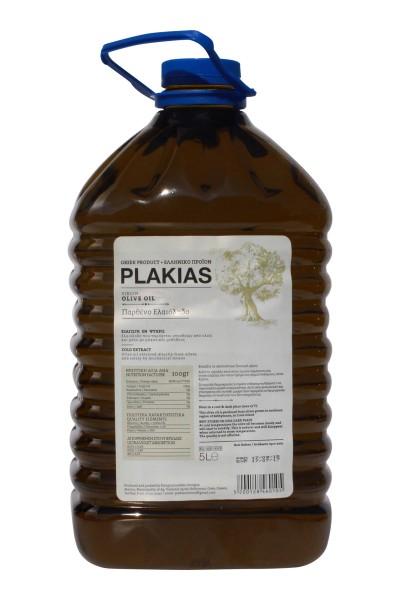 Plakias Natives Olivenöl Koroneiki Tsunaten 5L PET