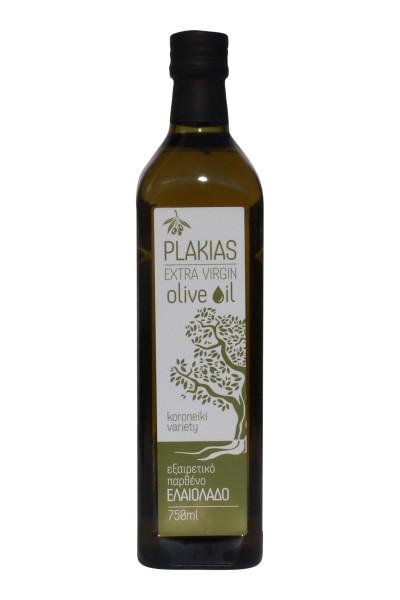 Plakias Oil Extra Natives Olivenöl 750ml Flasche