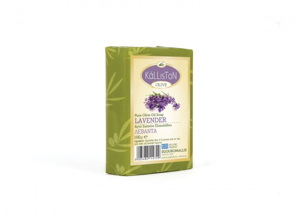 Kalliston Olivenöl Traditional Seife Lavendel 100g