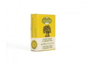 Kalliston Seife grüner Tee Peel 100g