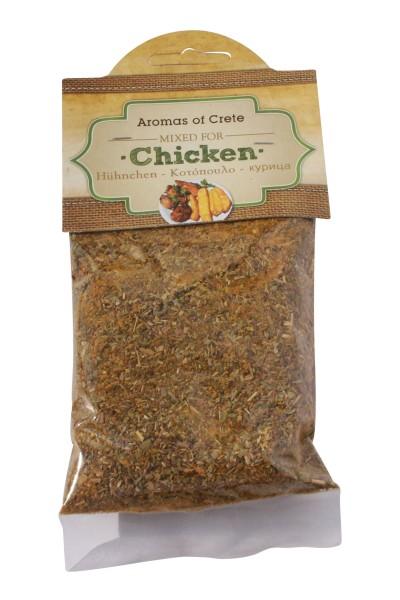 Aromas of Crete Hähnchen Gewürzmischung 50g Beutel