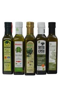 Probier Set aus 5 unserer beliebten Olivenöle