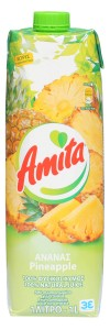 6x Ananasfruchtsaft 100% (1000ml) Amita