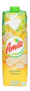 6x Bananensaftgetränk 20% (1000ml) Amita