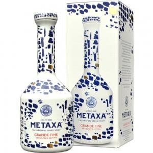 Metaxa griechischer Weinbrand 15 Jahre Porzellanflasche