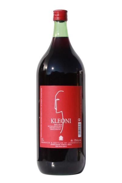 Lafkioti Kleoni Imiglykos Rotwein 2 Liter Flasche