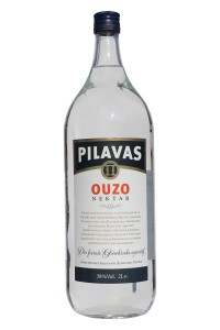 Ouzo Nektar Normal 2 L 38% Pilavas