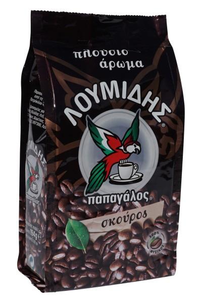 Kaffee - gerösteter Mokka Skouros Loumidis (194g Btl.) Dark