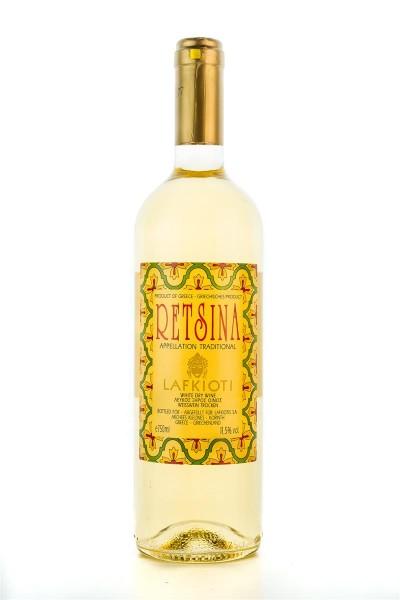 Lafkioti Weißwein Retsina 750ml Flasche