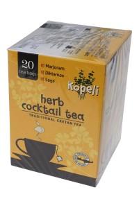 Kopeli Tee gemischte Kräuter 20 Beutel