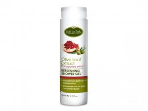 Kalliston erfrischendes Duschgel mit Olivenblätter-...
