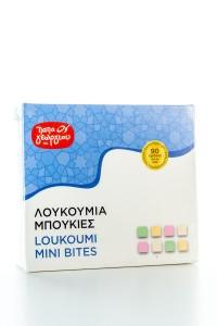 Griechische Loukoumi Mini Bites (420g) von Papageorgiou