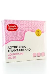 Griechische Loukoumi mit Rose (420g) von Papageorgiou