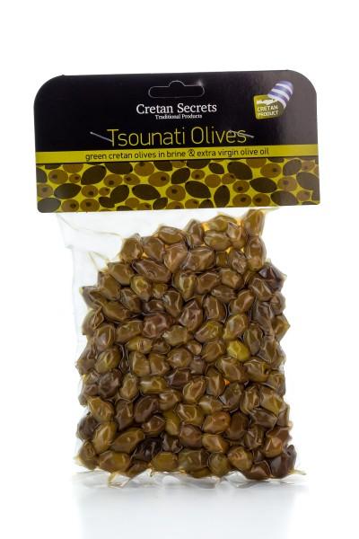Cretan Secrets Tsounaten Oliven 220g