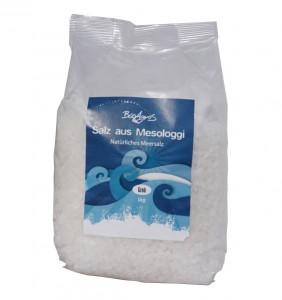 Meersalz grob aus Mesologgi 1kg Beutel von BioAgros