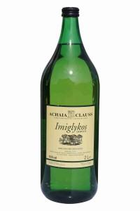 Imiglykos Weiß 2 Liter Flasche von Achaia Clauss