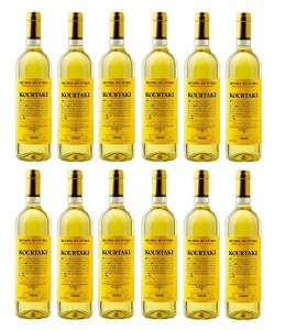 12x Retsina 750ml/12% Kourtaki gehartzter Wein aus Attika...