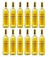 12x Retsina 750ml/12% Kourtaki gehartzter Wein aus Attika Savatiano