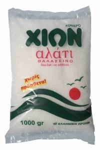 Meersalz grob 1kg Beutel von Chion