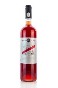 Aroma Lofos Rose halbtrocken (750ml/13%) Achaia Clauss