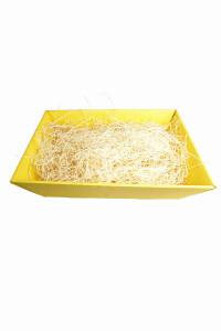 Präsentkorb Classic, gelb, klein, 19x14x10 cm, inkl....