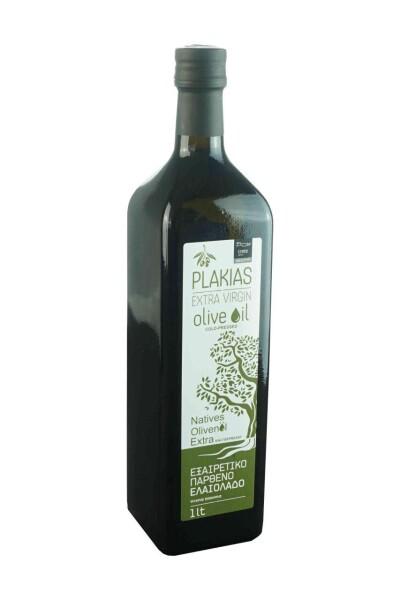 Plakias Olivenöl Extra Nativ Koroneiki (1L Flasche)