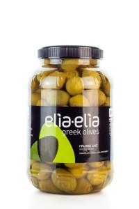 Elia-Elia griechische grüne, mit Zitrone...
