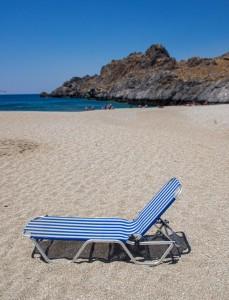 Sonnen Strandliege Kreta 1,95m