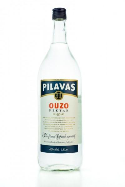 Ouzo Pilavas Nektar (1500ml / 40%) - Der Klassiker - Ouzo aus Pilavas