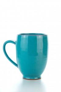 Original handgemachte Keramik Tasse Oval XXL von der...