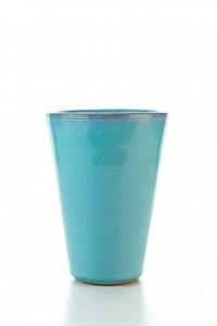 Original handgemachter Keramik Becher von der Insel Kreta...