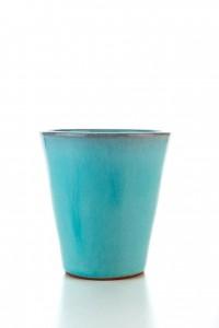 Original handgemachter Keramik Wein Becher von der Insel...