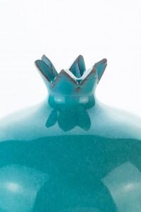 Original handgemachte Keramik Vase Granatapfel klein von...