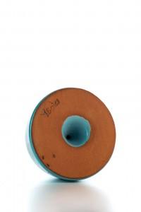Original handgemachter Keramik Salzstreuer von der Insel...